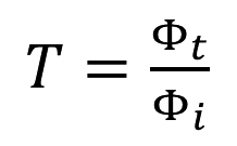 Transmittance equation
